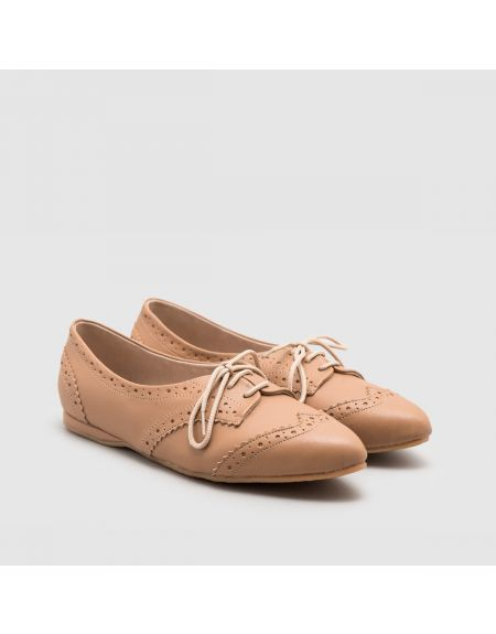 Lidea Flat Shoes Brown