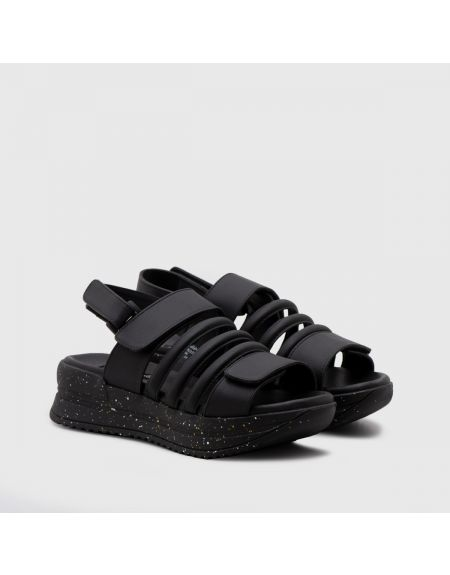 Lobosa Platform Sandals Black